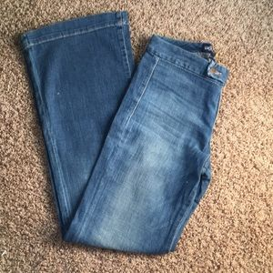 Lucky Brand wide leg jeans size 6/28